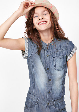 Denim-look jumpsuit from s.Oliver