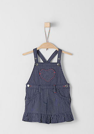 Denim-look pinafore from s.Oliver