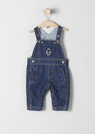 Denim tuinbroek