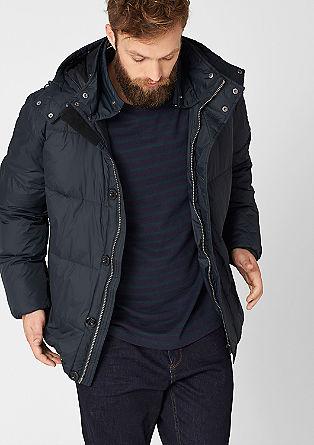 Dobro podložena najlonska prešita jakna