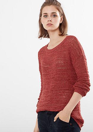Dolg, pleten pulover