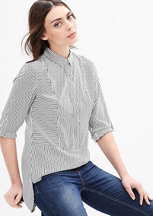 Dolga bluza z vzorcem po vsej površini