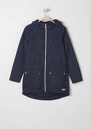 Dolga jakna, ki odbija vodo