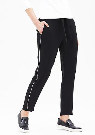 Dolge ženske hlače v slogu športnih hlač