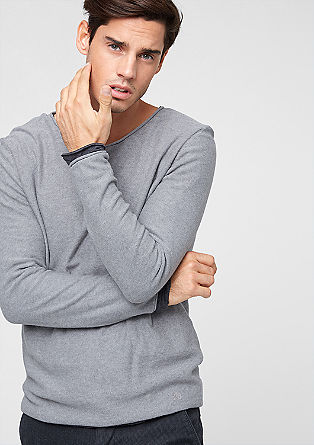 Double-layer knit jumper from s.Oliver