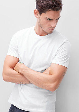Double-pack of basic T-shirts from s.Oliver