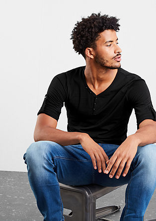 Double pack of long sleeve Henleys from s.Oliver