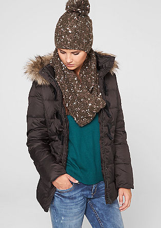 Down jacket with toggle buttons from s.Oliver