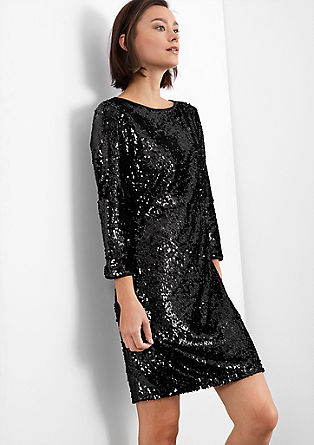 Dress made up of reversible sequins from s.Oliver