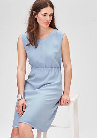 Dress with a washed finish from s.Oliver