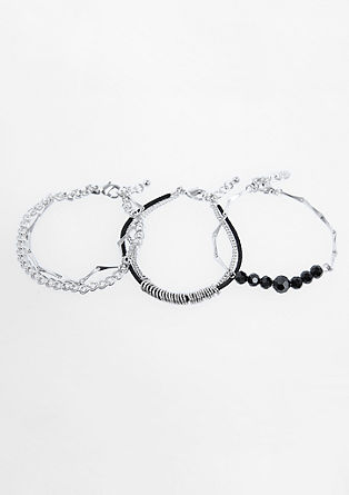 Dretieiliges Armband-Set