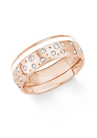 Dvobarven prstan iz legiranega jekla