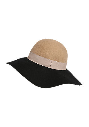 Dvobarvni klobuk
