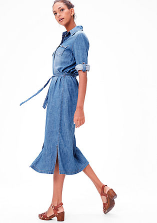 Džínové šaty z denimu