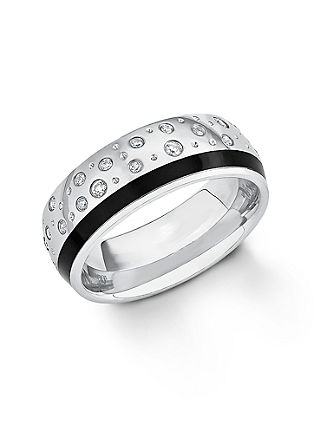 Edelstahl-Ring Bicolor