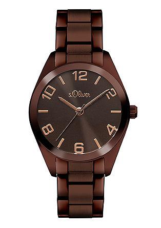 Edle Armbanduhr aus Edelstahl