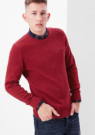 Eenvoudige, fijngebreide trui