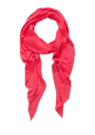Eenvoudige sjaal van chiffon