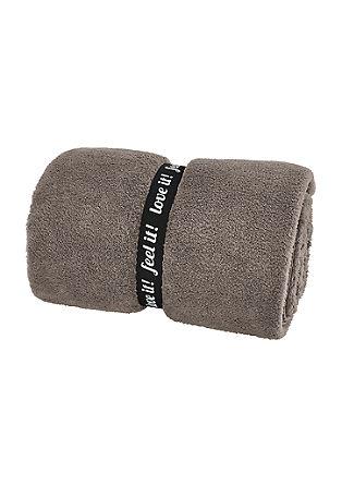 Effen Wellsoft deken van een superaangename kwaliteit