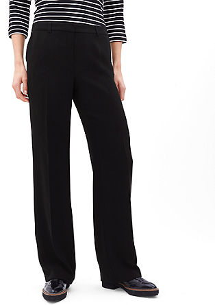 Elegant business trousers from s.Oliver