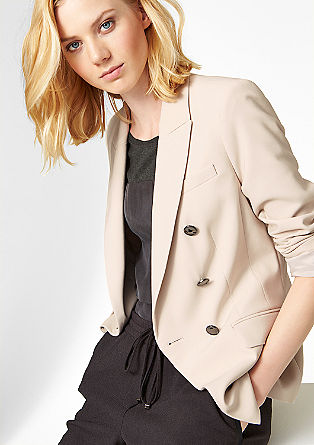 Elegant double-breasted blazer from s.Oliver