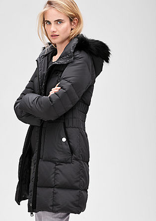 Elegant down coat with contrasts from s.Oliver