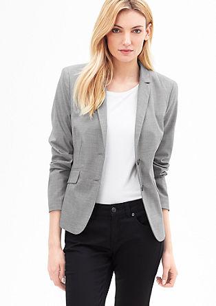 Elegant fil-à-fil blazer from s.Oliver
