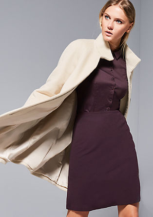 Elegant jersey skirt from s.Oliver