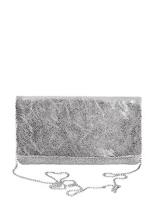 Elegant leather clutch with a vintage finish from s.Oliver