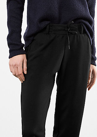 Elegant tracksuit bottoms from s.Oliver