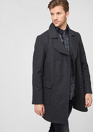 Elegant wool coat from s.Oliver