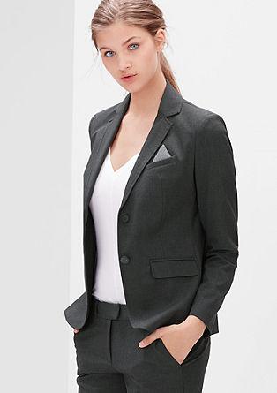 Elegante blazer met stretch