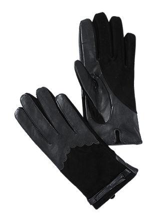 Elegante handschoenen van leer
