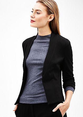 Elegante jersey blazer