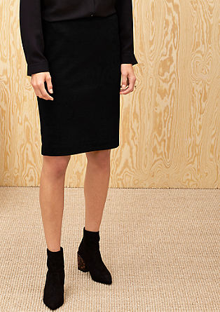 Elegante jersey rok