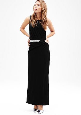 Elegante maxi dress met stras