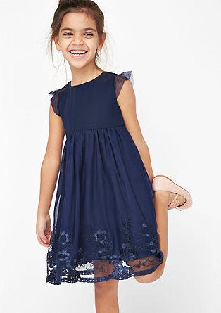 Elegante mesh jurk