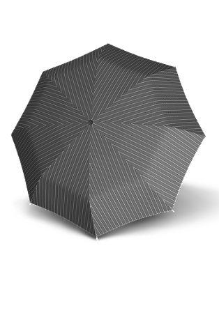 Eleganten zložljiv dežnik z gumbom