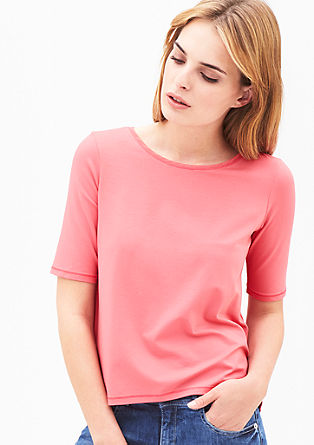 Elegantes Shirt aus Viskosestretch