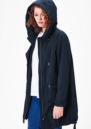 Elegantna jakna s kapuco