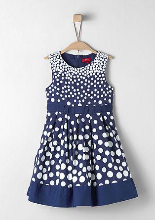 Elegantna obleka z vzorcem