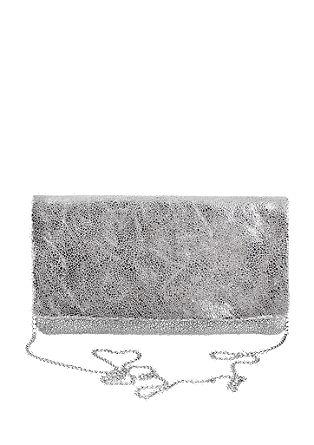 Elegantna usnjena clutch torbica v vintage videzu