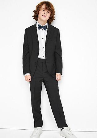 Elegantne hlače za obleko iz strižne volne