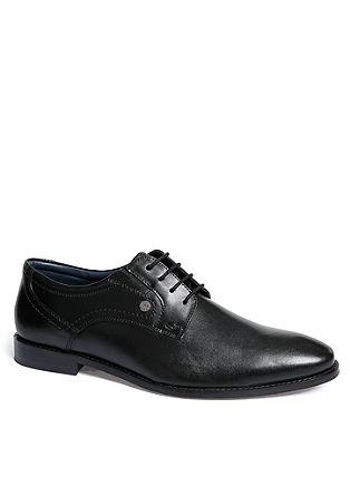 Elegantni čevlji iz pravega usnja, z vezalkami