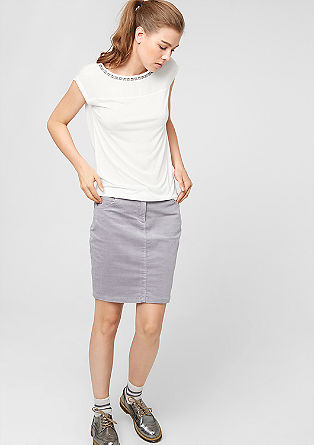 Embellished blouse top from s.Oliver