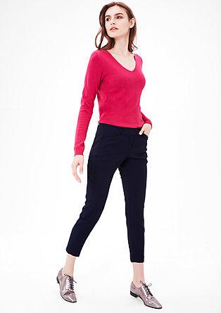 Enkellengte: elegante pantalon