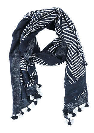 Ethnic scarf with tassels from s.Oliver
