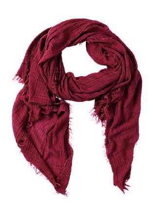 Extra grote geweven sjaal