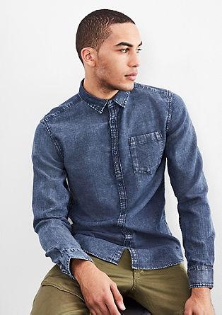 Extra Slim: Aced Washed Hemd