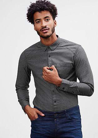 Extra Slim: Chambray-Hemd
